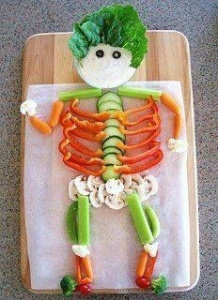 VEGETABLE SKELETON.