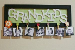 GRANDMA'S BRAG BOARD (JUST ONE OF MANY VARIATIONS)